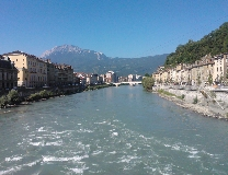 Sommerwetter in Grenoble