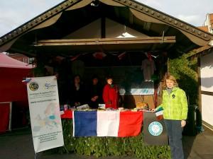 Weihnachtsmarkt mit Teilnahme vom Office de Tourisme de Grenoble