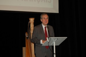 Ansprache des französischen Botschafters Maurice Gourdault-Montagne